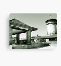 Riverside IL Train Station Canvas Print
