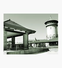 Riverside IL Train Station Photographic Print