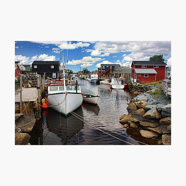 Fisherman's Cove, Eastern Passage Photographic Print