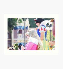 Parade Princesses Art Print