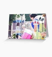 Parade Princesses Greeting Card