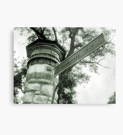 Welcome to Riverside IL Metal Print