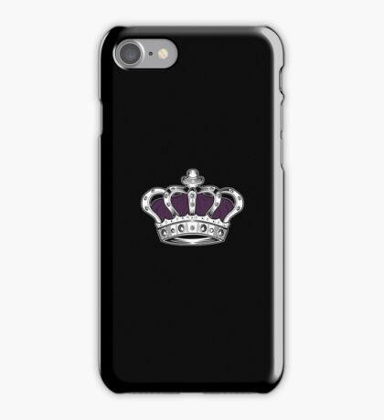 Crown - Purple 2 iPhone Case/Skin