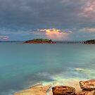 Island Light by Mark  Lucey