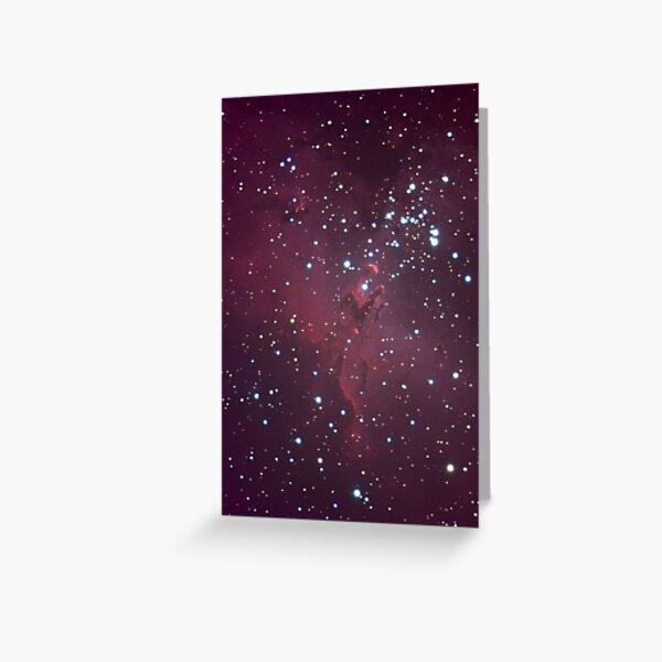 M16 - Eagle Nebula (Pillars of Creation) Greeting Card