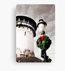 Holiday Water Tower, Riverside, Illinois Canvas Print