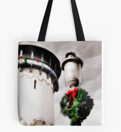 Holiday Water Tower, Riverside, Illinois Tote Bag