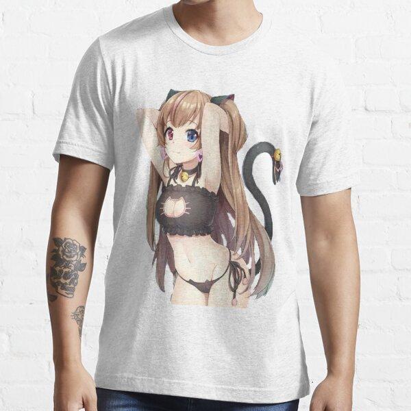 Neko Girl Essential T-Shirt