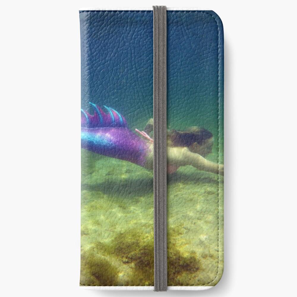 Laptop & Phone Accessories, Hardcover Journal: Jaime the Mermaid Underwater iPhone Wallet