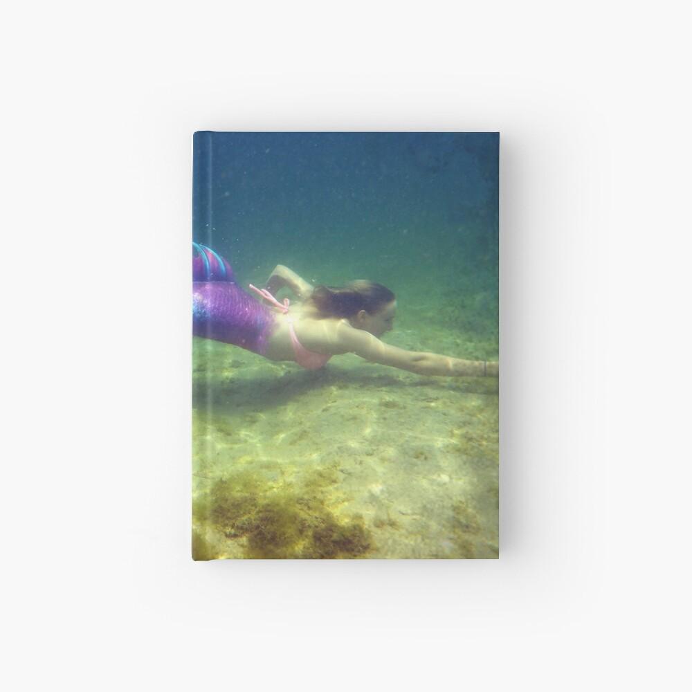 Laptop & Phone Accessories, Hardcover Journal: Jaime the Mermaid Underwater Hardcover Journal