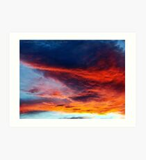 In Search of the Perfect Sunset Art Print