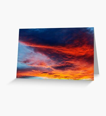 In Search of the Perfect Sunset Greeting Card