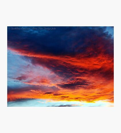 In Search of the Perfect Sunset Photographic Print