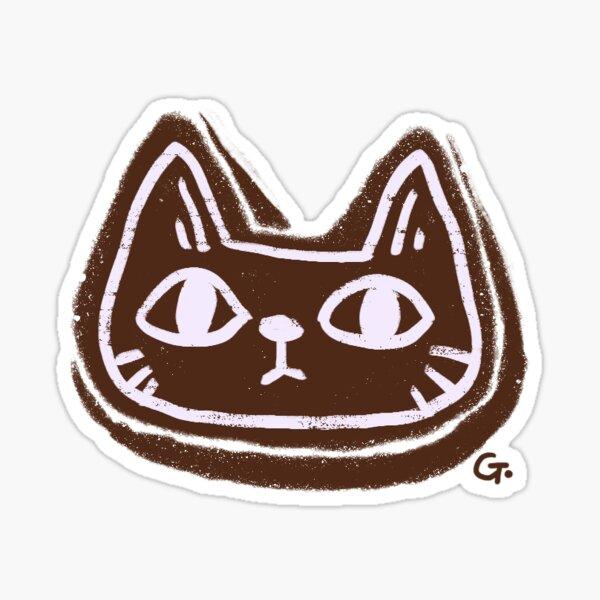 Cat christmas cookie Sticker