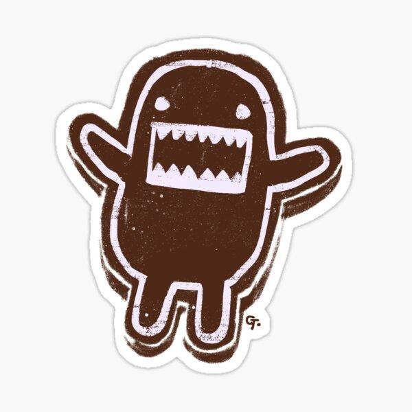 Domokun christmas cookie Sticker
