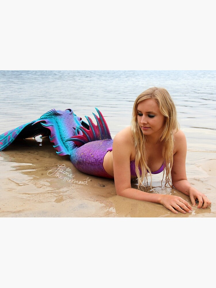 Jaime the Mermaid at the Beach by jaimethemermaid