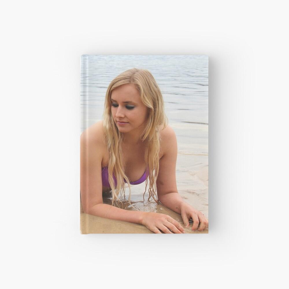 Jaime the Mermaid at the Beach Hardcover Journal
