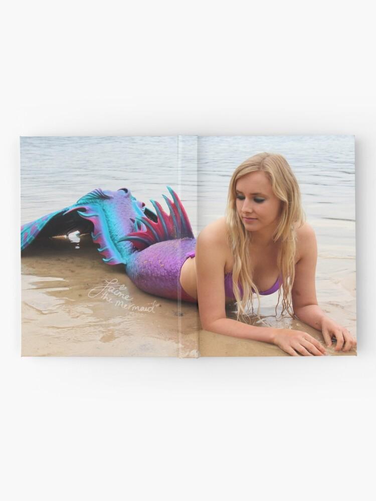 Alternate view of Jaime the Mermaid at the Beach Hardcover Journal