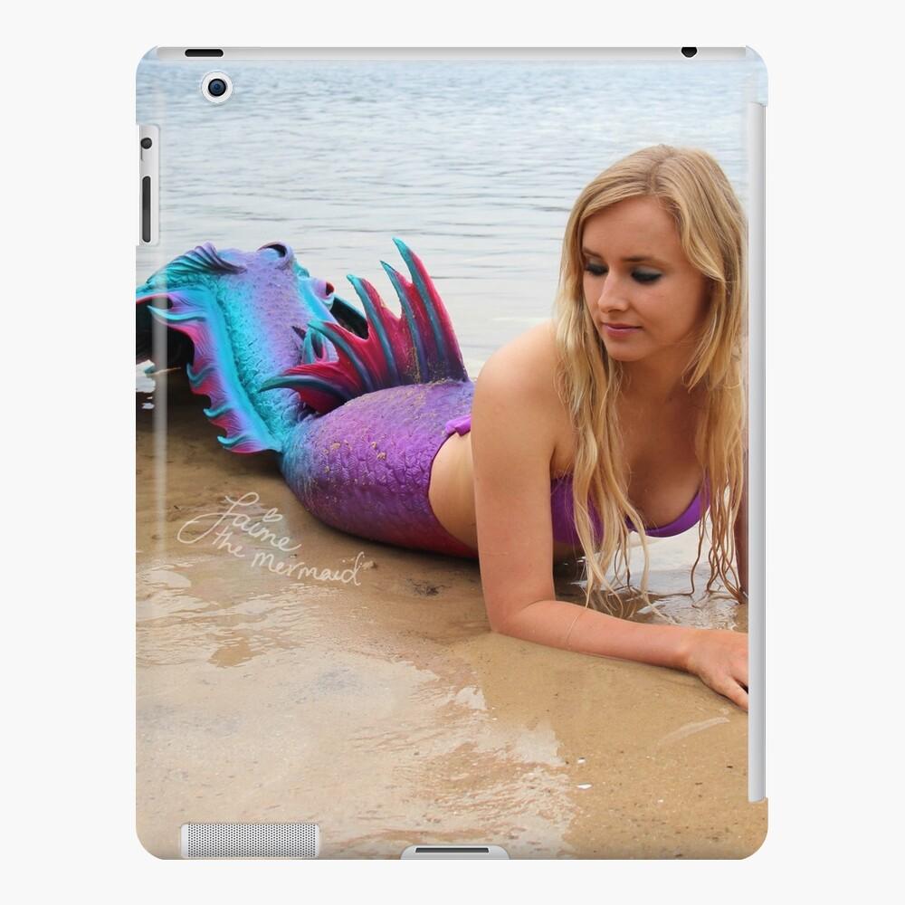 Jaime the Mermaid at the Beach iPad Case & Skin