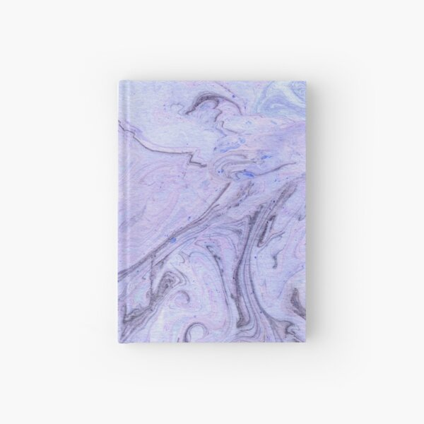 Marbly Lavender Hardcover Journal
