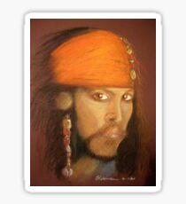 Captain Jack Sparrow Sticker