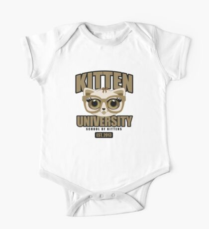 Kitten University - Brown Kids Clothes