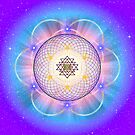 Sacred Geometry 21 by Endre