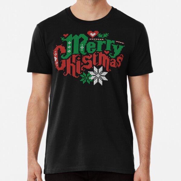 Merry Christmas Camiseta premium