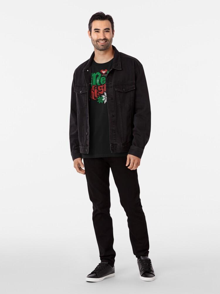 Vista alternativa de Camiseta premium Merry Christmas