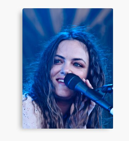 Julia Stone Canvas Print