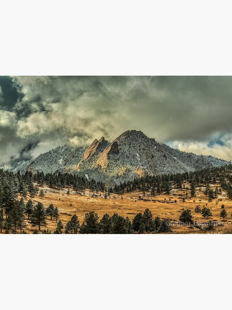 Bear Peak And October Clouds by nikongreg