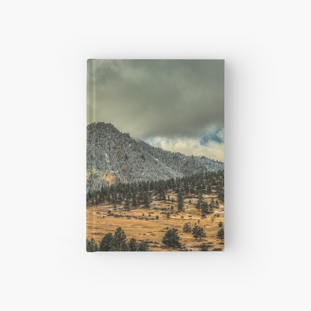Bear Peak And October Clouds Hardcover Journal