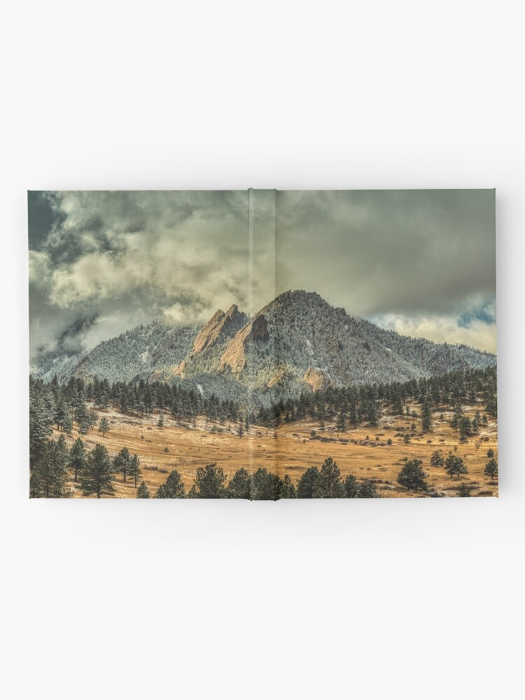 Alternate view of Bear Peak And October Clouds Hardcover Journal