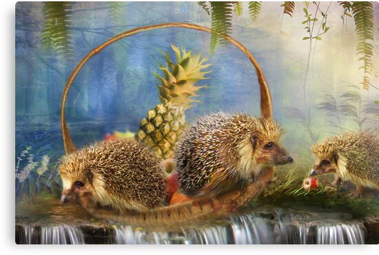 The Fruit Basket Thieves by Trudi's Images