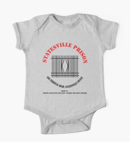 Statesville Prison - Black (Police Squad) Kids Clothes