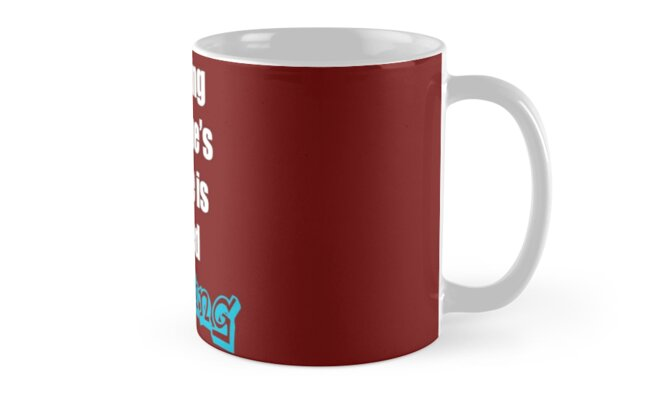 Dad Joke - Stealing Someone's Coffee is Called Mugging by Avori