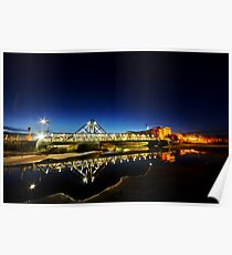 Il ponte del Galvano Pineto Poster