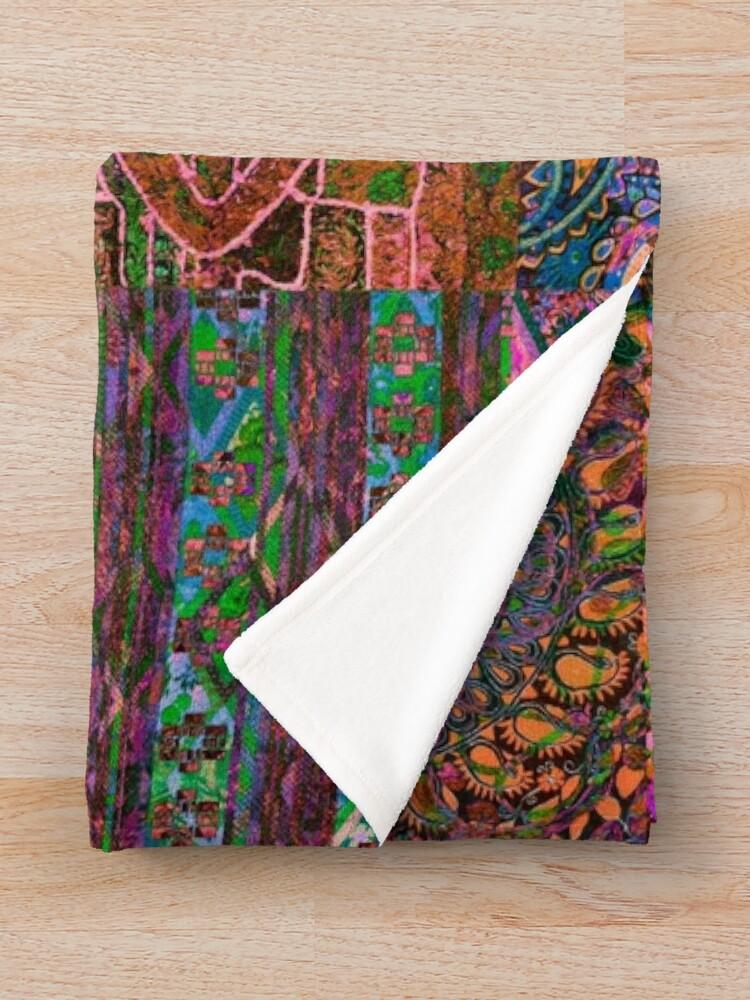 Alternate view of Bohemian Wonderland II  Throw Blanket
