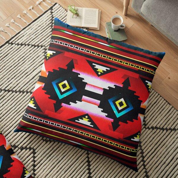 El Camino Floor Pillow