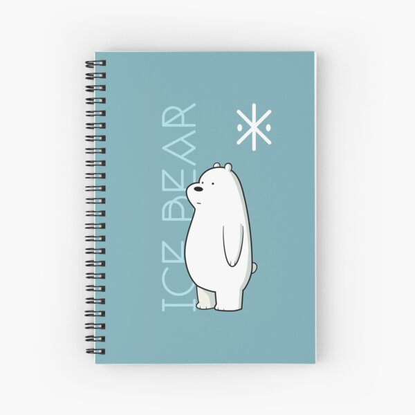 ICE BEAR Spiral Notebook