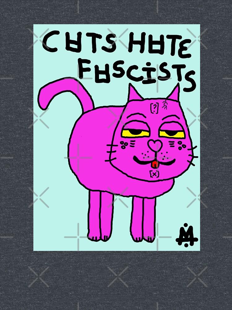 Scykosiz - CATS HATE FASCISTS by Scykosiz