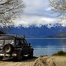 On the way to Glenorchy from Queenstown. South Island, New Zealand. by Ralph de Zilva
