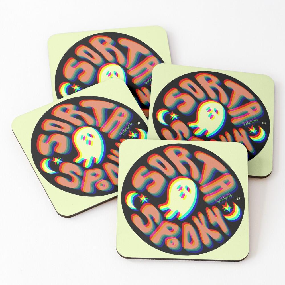 Sorta Spooky © 3D Coasters (Set of 4)