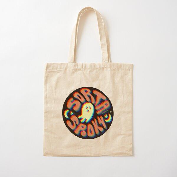 Sorta Spooky © 3D Cotton Tote Bag