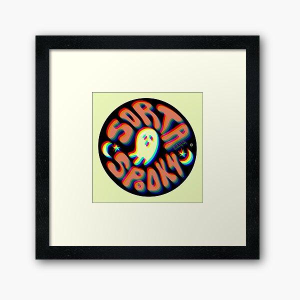 Sorta Spooky © 3D Framed Art Print