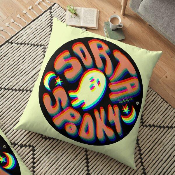 Sorta Spooky © 3D Bodenkissen