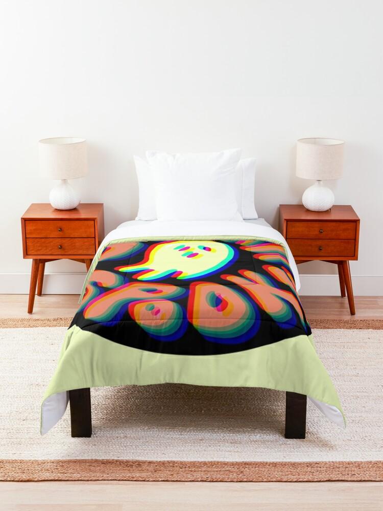 Alternate view of Sorta Spooky © 3D Comforter