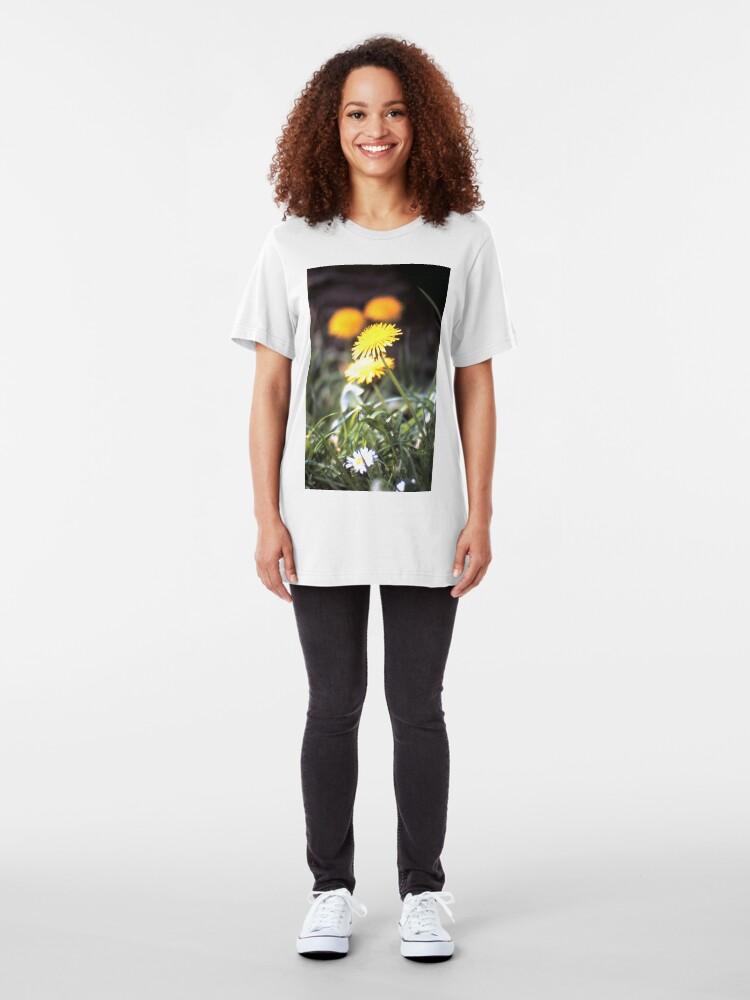 Alternative Ansicht von Der Löwenzahn Slim Fit T-Shirt