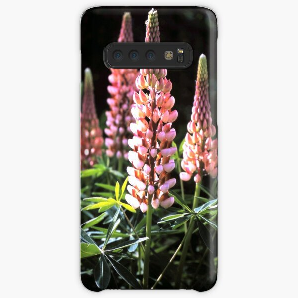 Lupinen-Blüten Samsung Galaxy Leichte Hülle