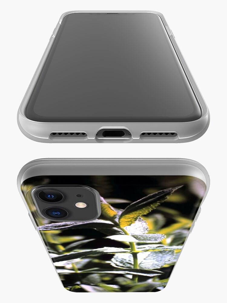 Alternative Ansicht von Pfeffer-Minze iPhone-Hülle & Cover